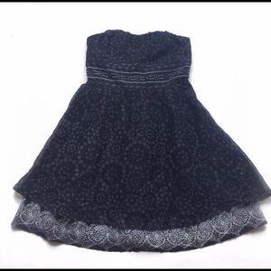 Free People strapless embellished dress Size 4